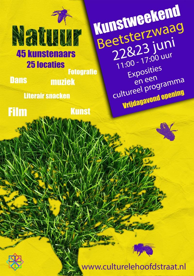 Kunst- en Natuurfestival 21-23 juni flyer